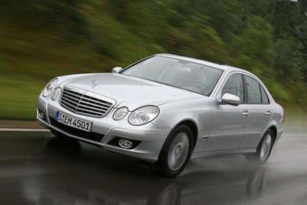 Mercedes E-класа: Нови агрегати