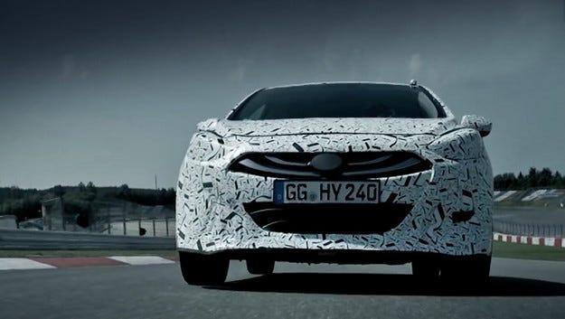 Спортният Hyundai i30 N тръгна на тестове на Нюрбургринг