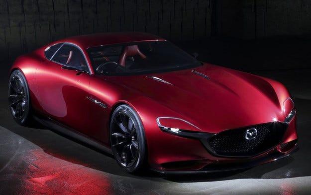Новият Mazda RX с роторен двигател на пазара през 2017 г.