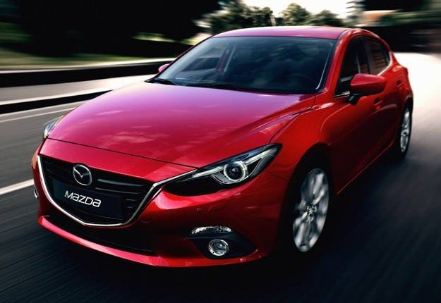 Хечбекът Mazda3 получава нов дизелов двигател