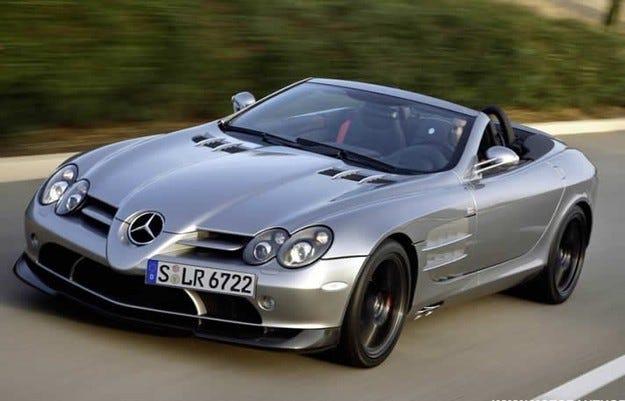 Новият Mercedes SLR ще има хибридно задвижване