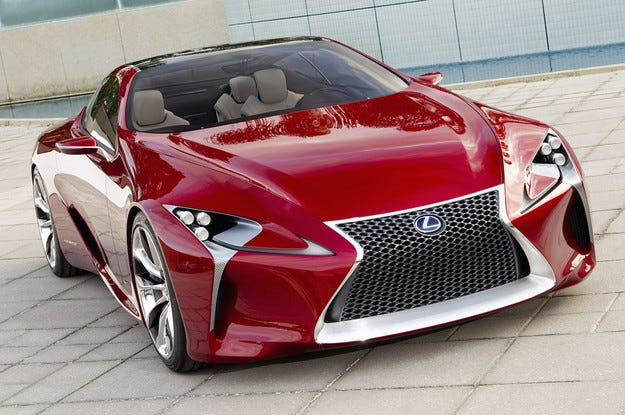 Lexus ще покаже нов флагмански модел в Детройт