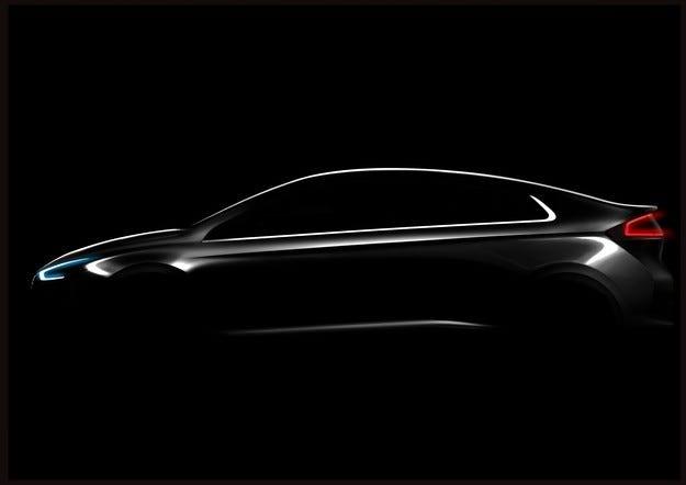 Южнокорейската компания Hyundai Motor представя IONIQ