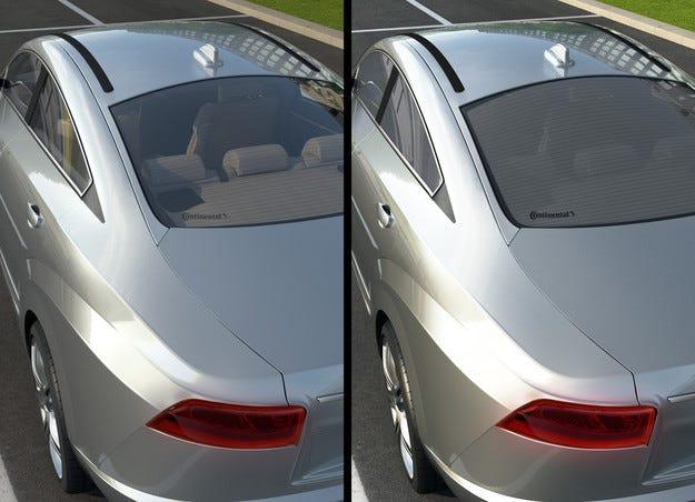 Continental създаде интелигентни  автомобилни стъкла