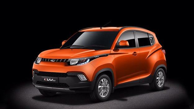 С KUV100 Mahindra and Mahindra влиза в нов сегмент