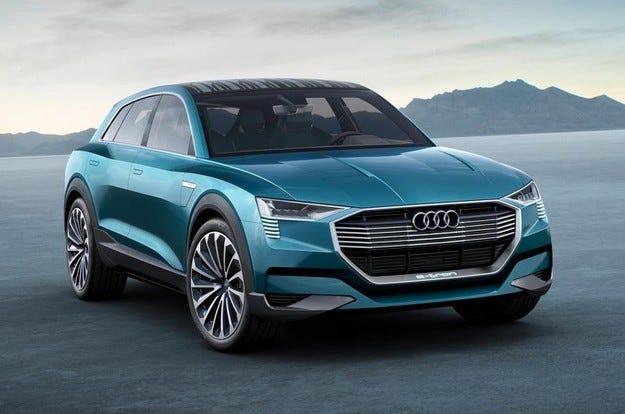 Концептът Audi Q6 h-tron ще дебютира на салона в Детройт