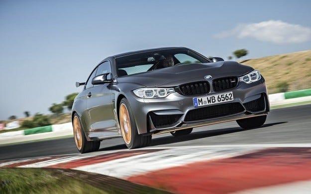 BMW M4 GTS постигна 7, 28 мин на Нюрбургринг (видео)