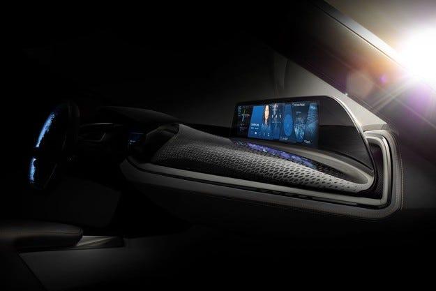 BMW разкрива интериора на колата на бъдещето