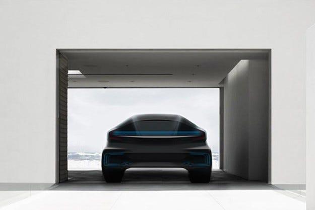 Faraday Future показва бъдещ конкурент на Tesla Model S