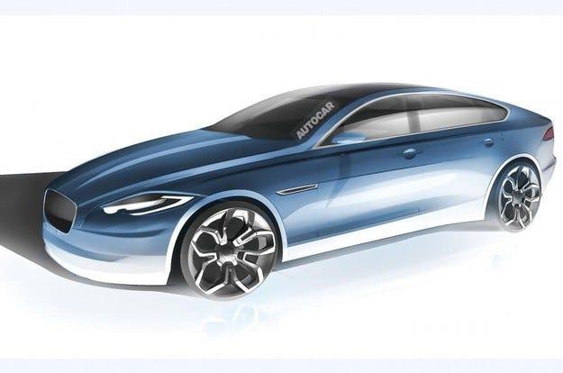 Компанията Jaguar ще сменя седана XJ с нов модел