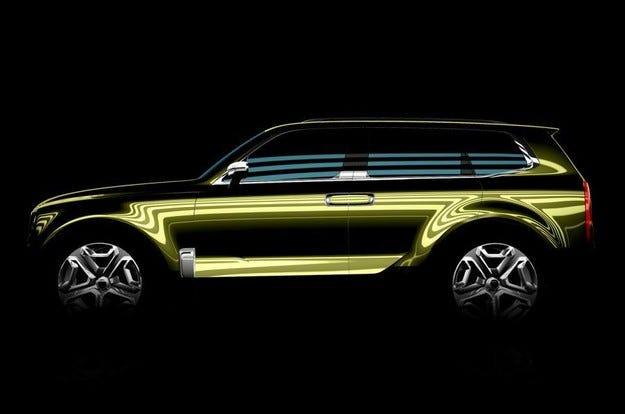 Kia ще покаже в Детройт концепт на нов кросоувър