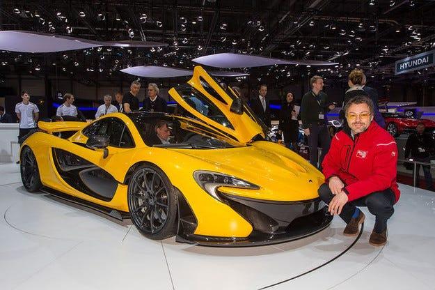 Сервизна кампания за McLaren P1 (US-спецификация)