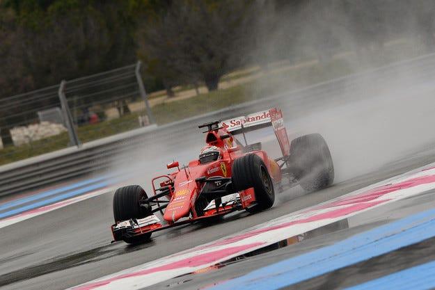 Райконен не е доволен от новите гуми за мокро