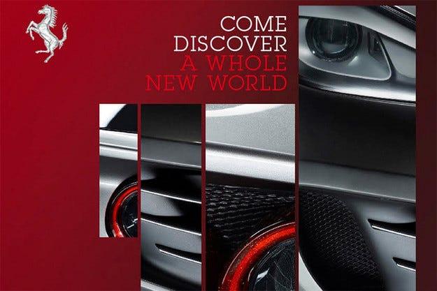 Премиерата на новия суперавтомобил Ferrari FF край Комо