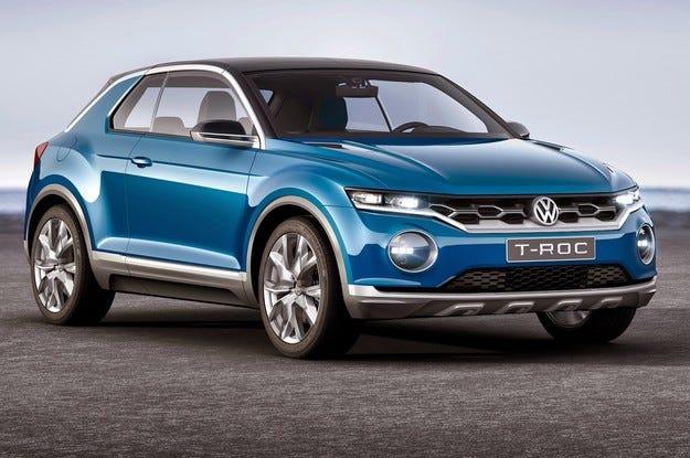 Volkswagen ще покаже в Женева бюджетен кросоувър