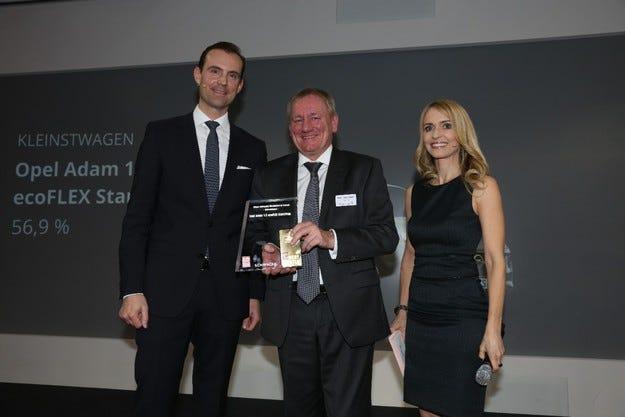 Лидер по остатъчна стойност: Opel ADAM е Wertmeister 2016
