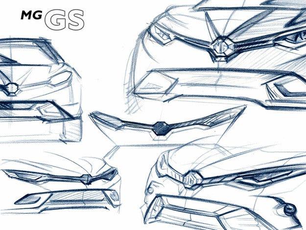 MG представя първия си кросоувър за Европа през май