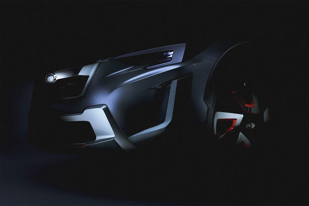 Subaru пусна първото изображение на новия XV