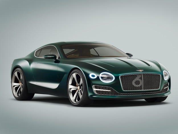 Bentley планира да разработи първия си електромобил