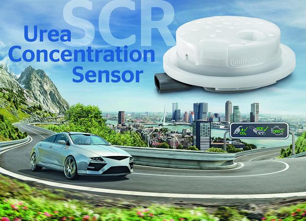 Сензор на Continental прави дизеловите мотори по-чисти