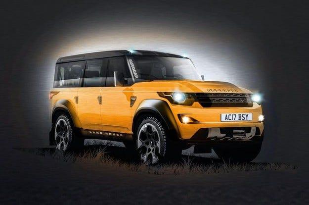 Новият Land Rover Defender ще бъде представен през 2019 г.