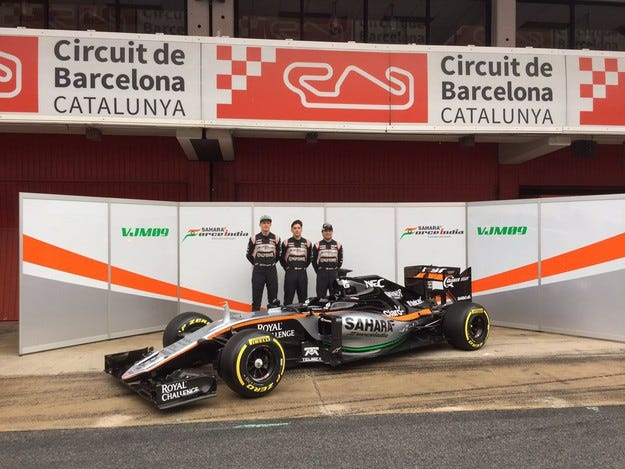Force India VJM09: Логично следствие