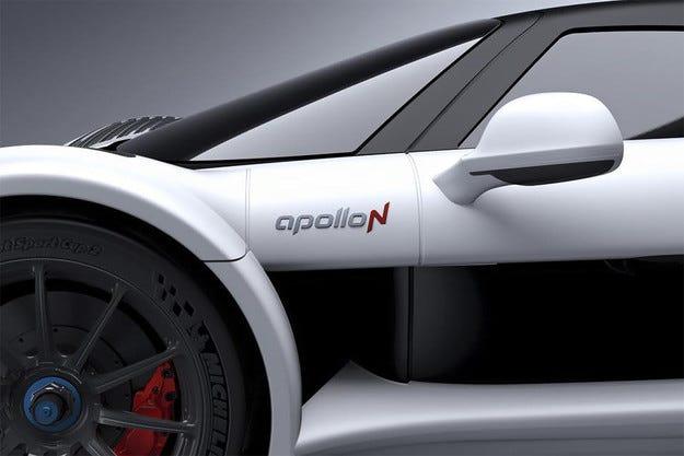 Apollo показва претендент за титлата на най-бърз в света