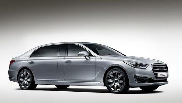 Корейците превърнаха Genesis G90 в луксозна лимузина