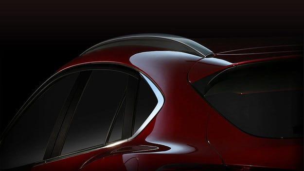 Mazda подсказва външния вид на кросоувъра CX-4