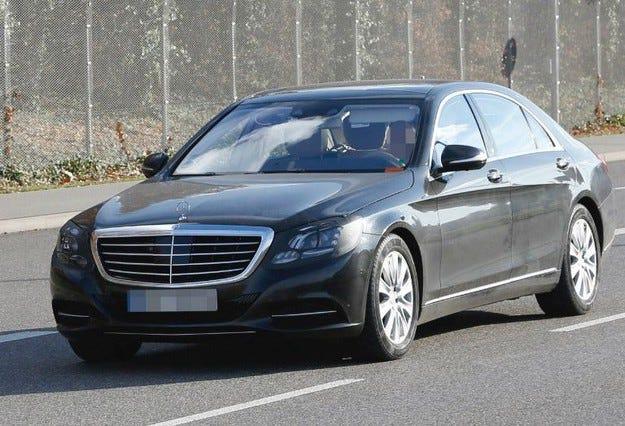 Показаха на видео обновения Mercedes-Benz S-класа