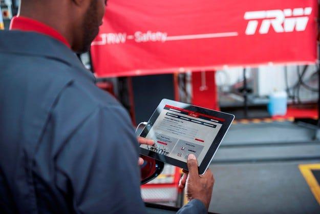 TRW Aftermarket стартира нова версия на уеб сайта си