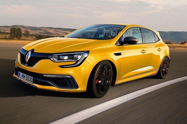 Renault Megane ще получи двигател с над 300 конски сили