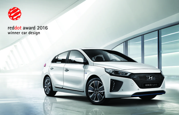 Hyundai IONIQ получи Red Dot Design Award за 2016 г.