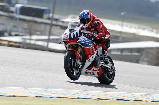 Honda избра Dunlop за състезанията за издръжливост