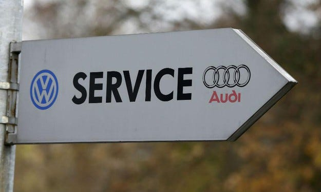 Сервизната кампания на Volkswagen в Европа се забавя