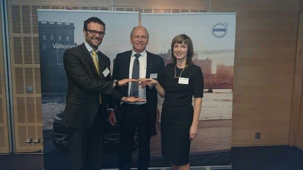 TRW Aftermarket с награда за качество от Volvo Cars