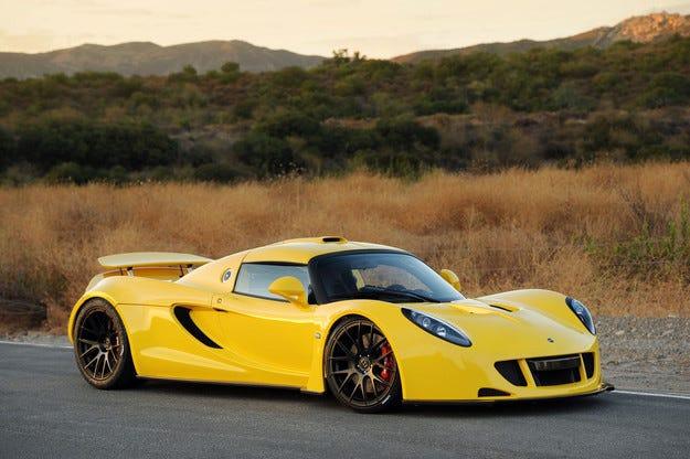 Hennessey Venom GT подобри собствения си рекорд