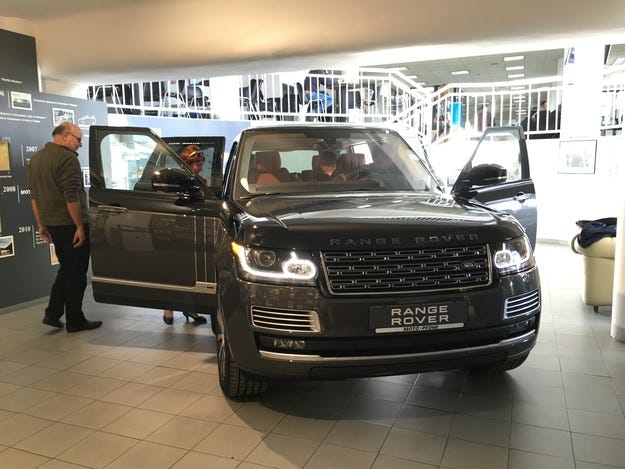 Представиха първия Range Rover SVAutobiography у нас