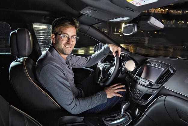 Юрген Клоп винаги има последната дума с Opel Insignia