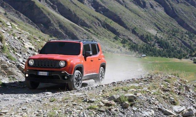 Fiat Chrysler произвежда кросоувъра Jeep Renegade в Китай