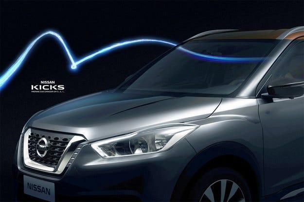 Nissan показва предната част на новия кросоувър