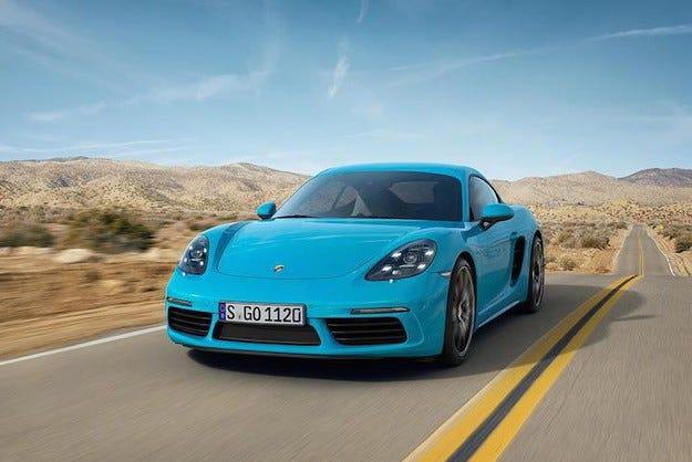 Porsche стартира производството на новия 718 Cayman