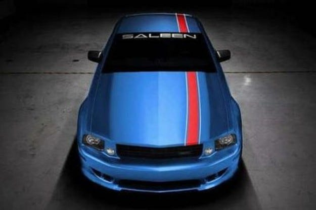 Saleen Mustang Patriot: Патриотични игри