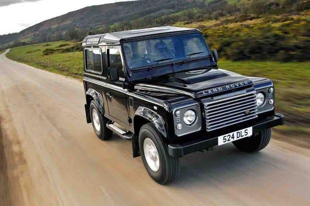 Land Rover отказва да възроди всъдехода Defender