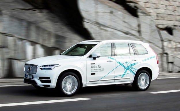 Volvo ще пусне напълно безпилотен автомобил до 2021 г.