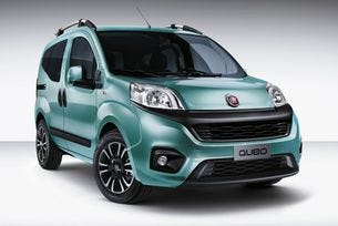 Промениха Fiat Qubo: Най-малкият ван с нова визия