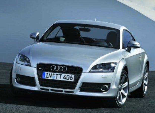 Audi TT-S: Турбината