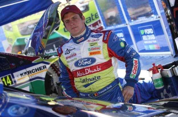 "Focus RS WRC 07 за Дювал на ""Монте Карло"""
