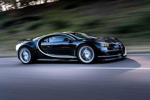 Обсъждат хибридизация на супер модела Bugatti Chiron