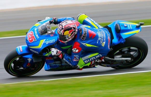 Винялес донесе първата победа на Suzuki след 2007